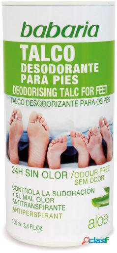 Babaria Desodorante para los Pies Talco Aloe Vera 100 ml 100