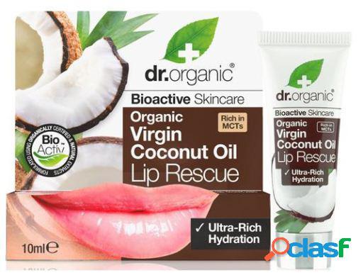 Dr. Organic Serum Labial de Aceite de Coco Orgánico 10 ml