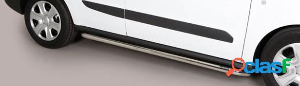 Estriberas laterales Acero Inox KIA Sportage 18> SIDE