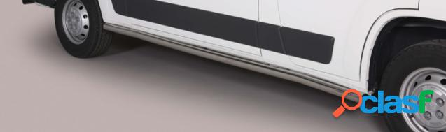 Estriberas laterales Acero Inox NISSAN NV 300 SIDE