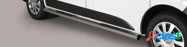 Estriberas laterales Acero Inox OPEL Crossland X 17> GRAND