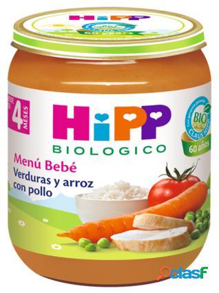 Hipp Potitos Verduras con Arroz y Pollo 190 gr