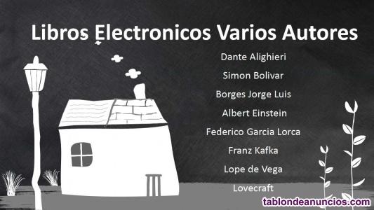 Libros electronicos - 182 autores en español