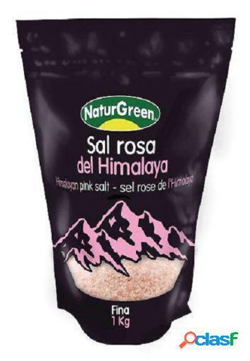 Naturgreen Sal rosa del Himalaya Fina 1 Kg