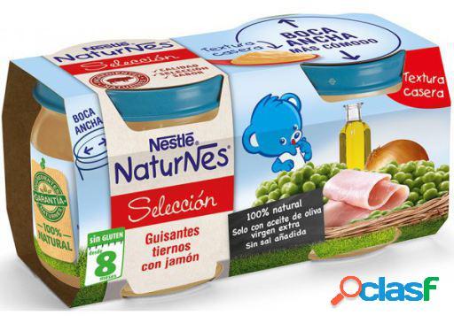 Nestlé Puré Guistantes Tiernos con Jamón 2x200 gr 400 gr