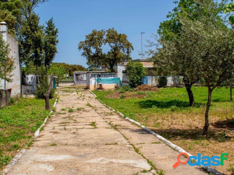 Parcela Tres Arroyos con casa y piscina junto a la Carretera