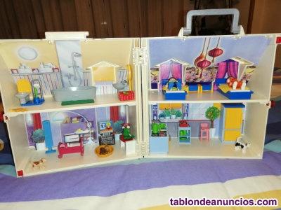 Playmobil casa de muñecas maletin