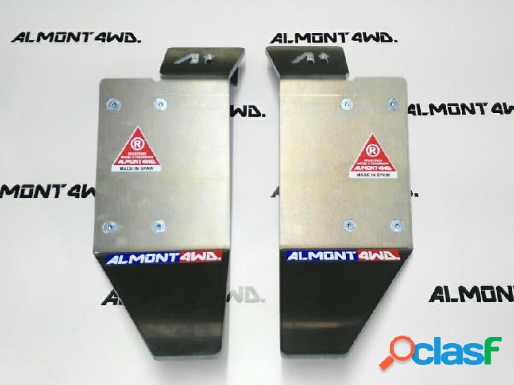 Protector de aluminio LAND ROVER DEFENDER 110 DEFENDER 110