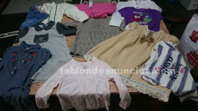 Ropa de niña 11 prendas de boutique por 25 euros