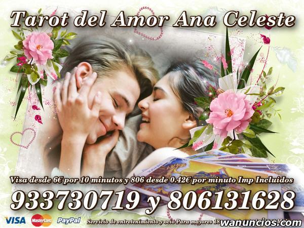 Tarot del Amor Certero sin mentiras Ana Celeste - Cáceres