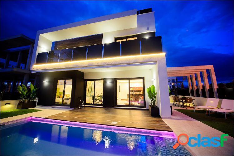 Villas de obra nueva en Orihuela Costa
