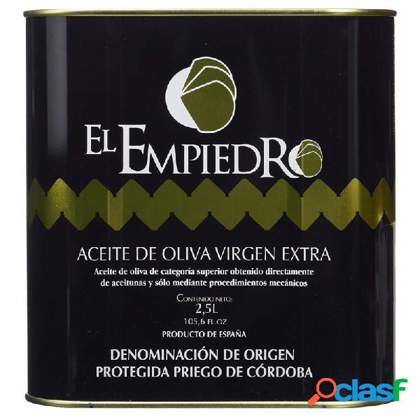 Aceite de oliva virgen extra El Empiedro 2.5 litros