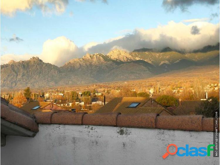 Casa con bonitas vistas en Soto del Real