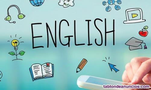 Clases particulares online. Inglés