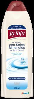 La Toja Gel Hidrotermal con Sales Minerales 550 ml 550 ml