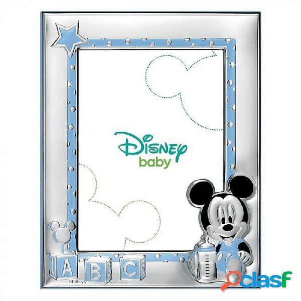 Marco portafotos plata Ley 925m Disney 18x13cm. Mickey