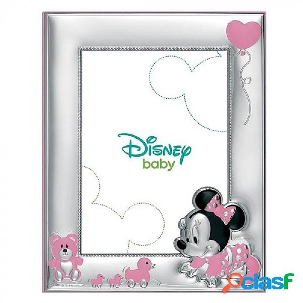 Marco portafotos plata Ley 925m Disney 18x13cm. Minnie