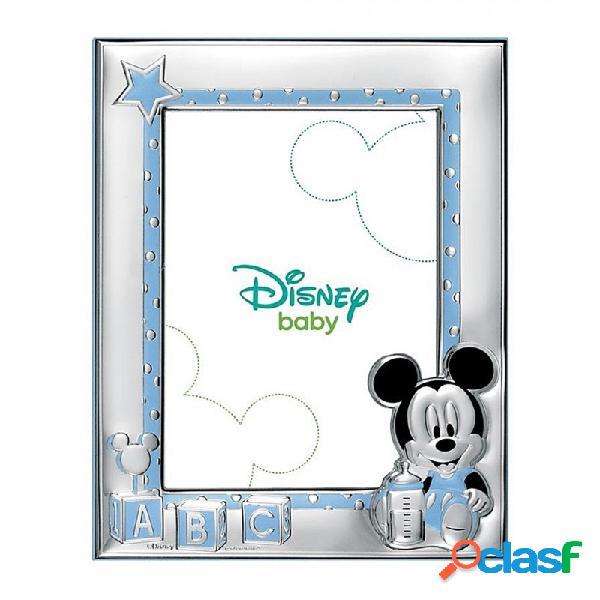 Marco portafotos plata Ley 925m Disney 9x13cm. Mickey
