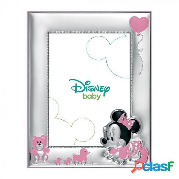 Marco portafotos plata Ley 925m Disney 9x13cm. Minnie