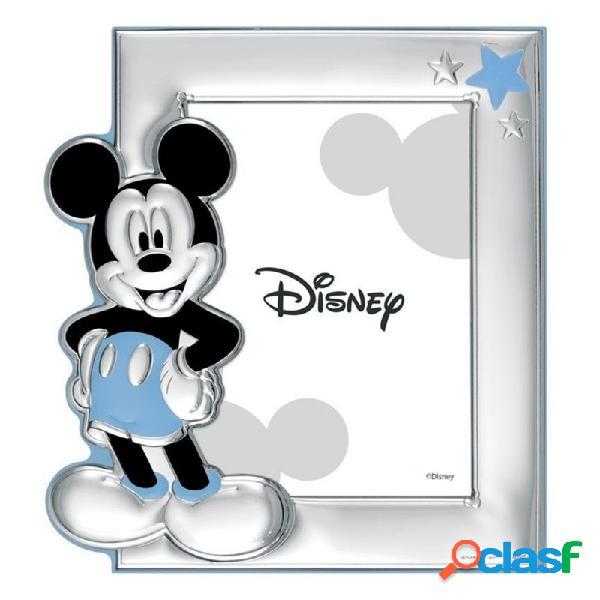 Marco portafotos plata Ley 925m Disney foto 9x13cm. Mickey