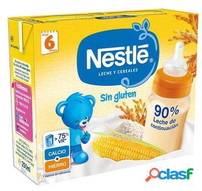 Nestlé Leche y Cereales sin Gluten 2 x 250 ml