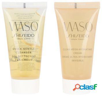 Shiseido Pack de Limpieza Waso clear + Mega hydrating cream