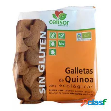 Soria Natural Galletas Quinoa Eco sin Gluten Celisor 200 gr