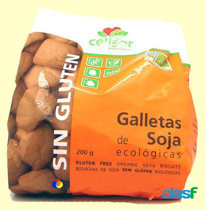 Soria Natural Galletas Soja Eco sin Gluten Celisor 200 gr