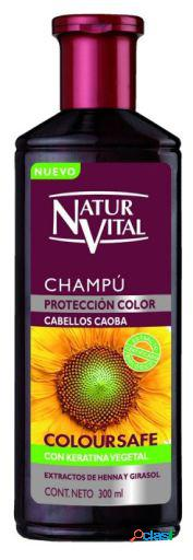 Naturaleza y Vida Champú Color Caoba Triple Acción 300 ml