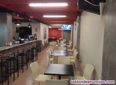 Traspaso bar restaurante con vivienda
