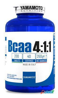 Yamamoto Nutrition Bcaa 4:1:1 Comprimidos 200 Unidades