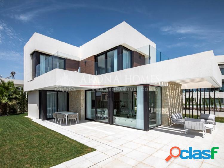 #1610 Chalet de obra nueva con 500 m2 de parcela en