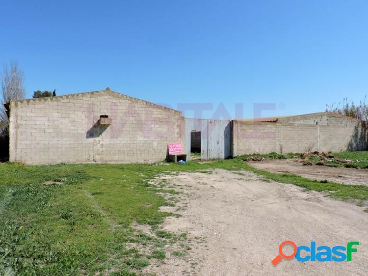 En venta rústico con edificación en Polígono PARAJE