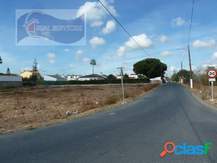 Se vende parcela en El Rincón, Punta Umbria- Huelva