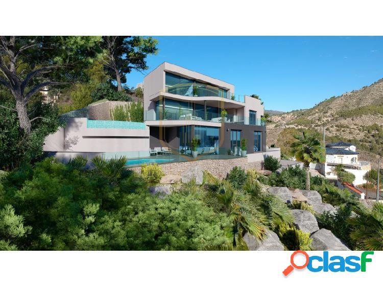 Villa de lujo con maravillosa vistas panorámicas al mar