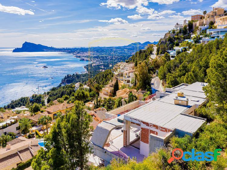 Villa de lujo en la prestigiosa urbanización Altea Hills
