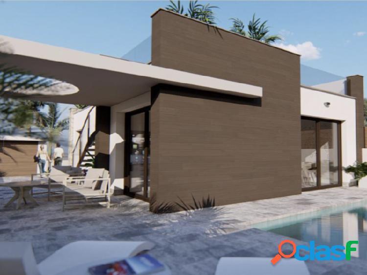 Villa de obra nueva en La Herrada, Los Montesinos