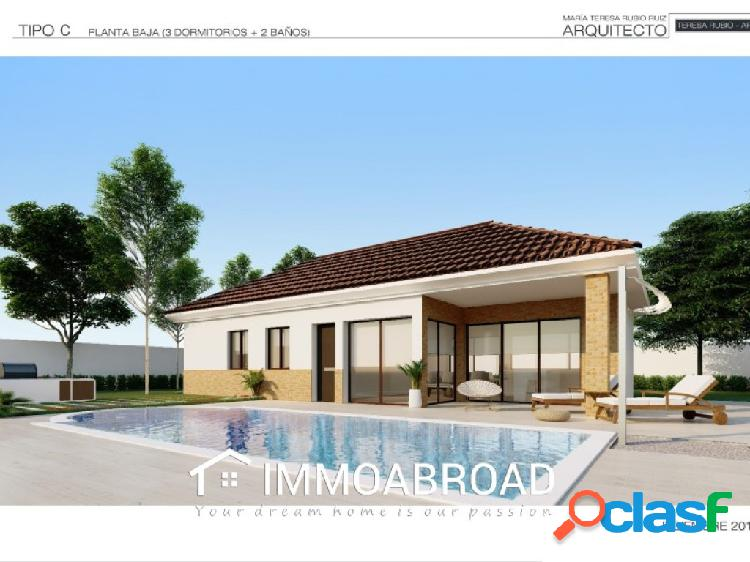 Chalet en venta en Monóvar con 3 dormitorios y 2 baños