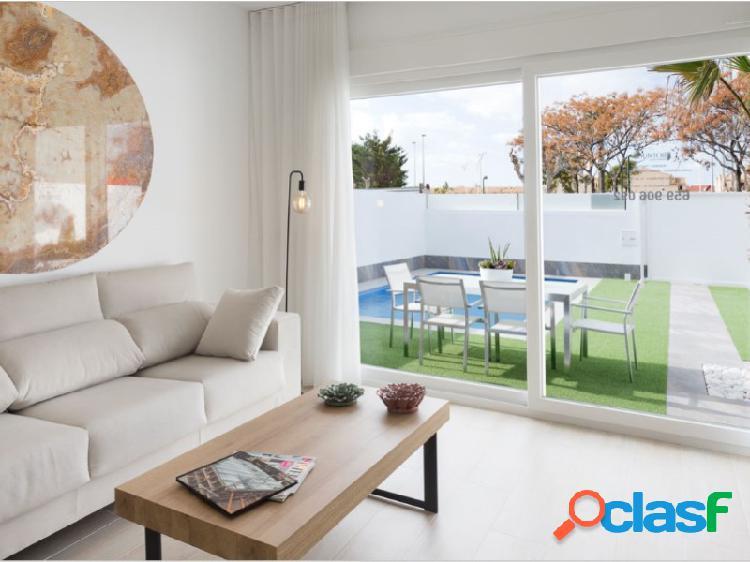 Moderna villa de obra nueva en San Pedro del Pinatar