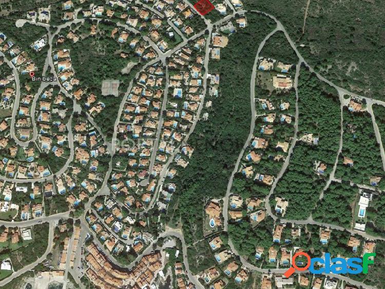 Parcella en venta en la zona alta de Binibeca Nou, Menorca