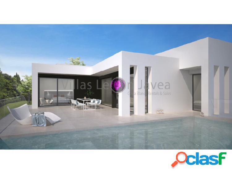 Villa de diseño con vistas al mar