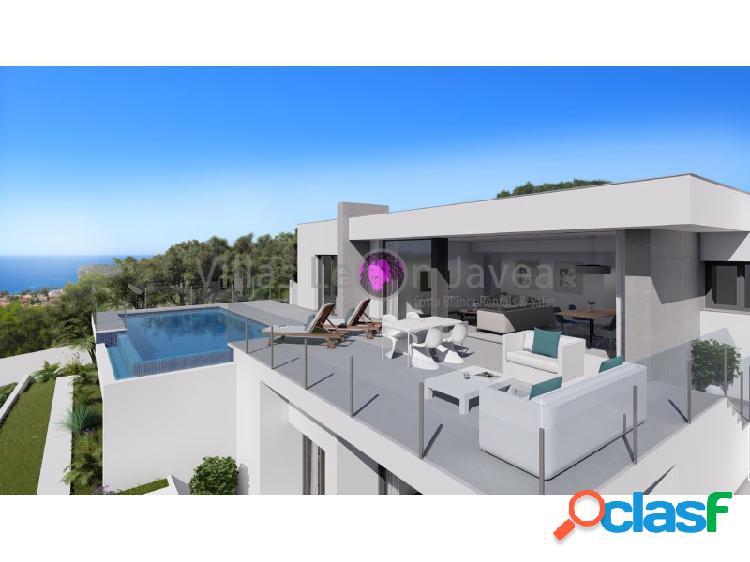 Villa moderna con vistas al mar en venta en la Cumbre del