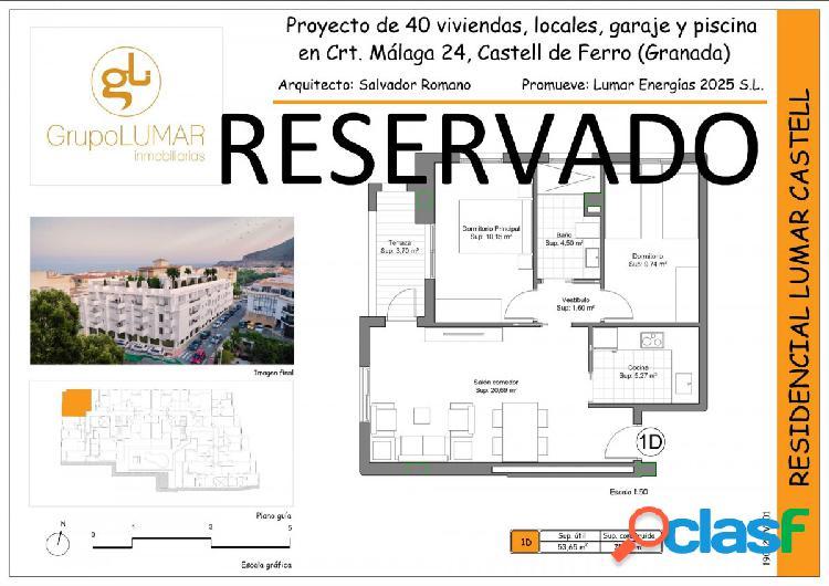 Nueva construcción en Castell de Ferro. 1D C 13SS