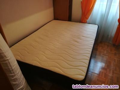 Somiere + colchón 190x135cm