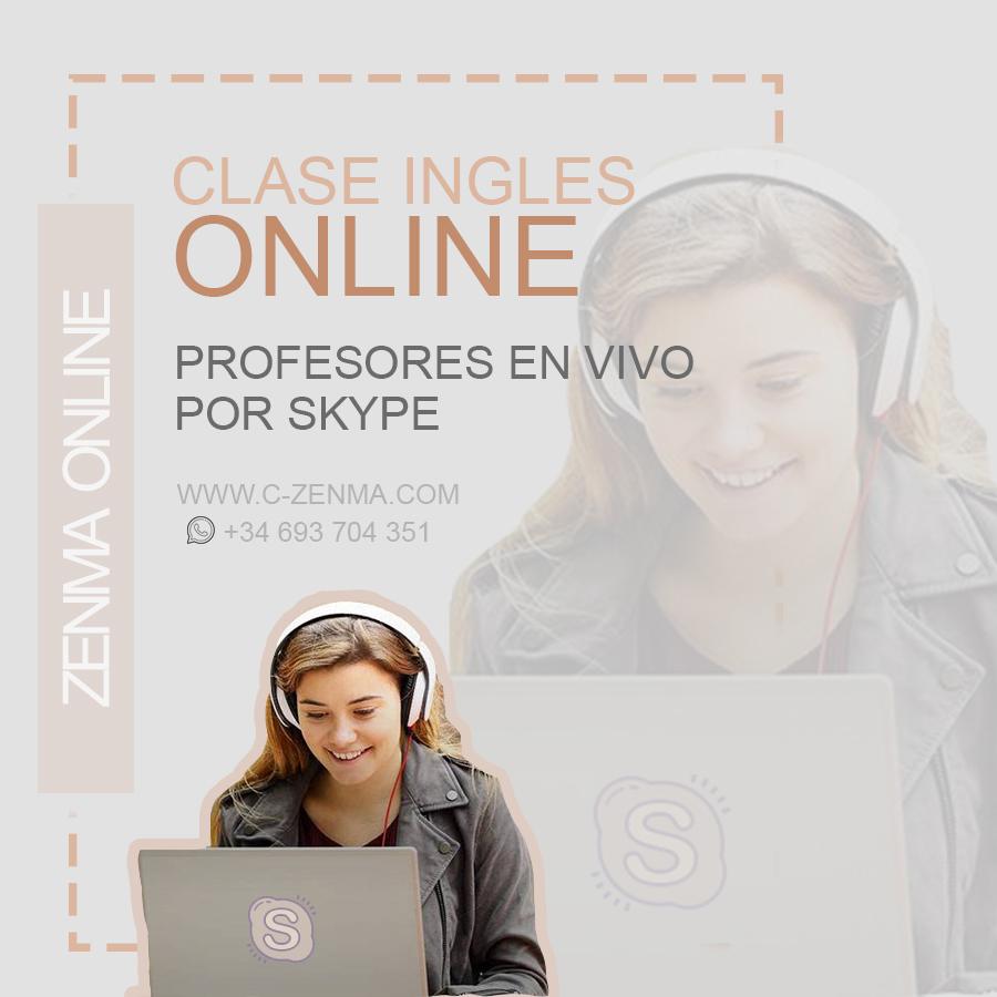 Clases de inglés online (50 minutos / 7 euros)