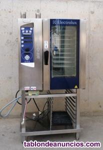 Horno de vapor electrolux air-o-steam
