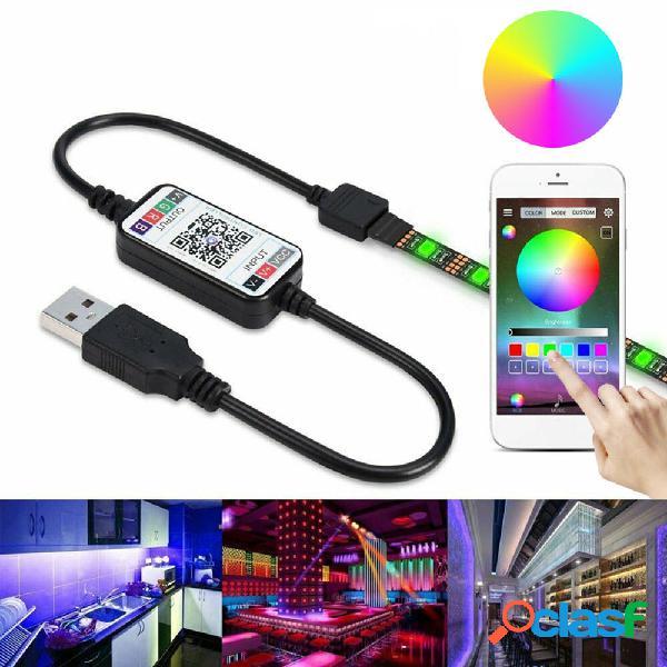 0.5m 2m 3m 5m 5050 Impermeable bluetooth APP Control RGB USB