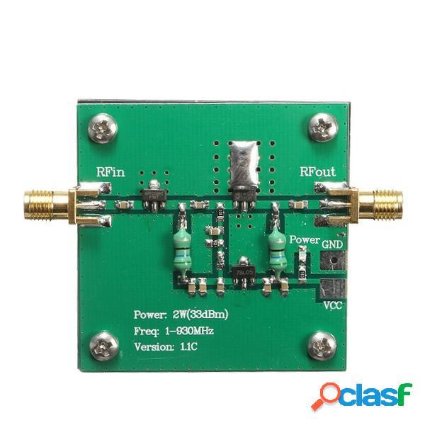 1-930mhz 2w rf módulo amplificador de potencia de banda