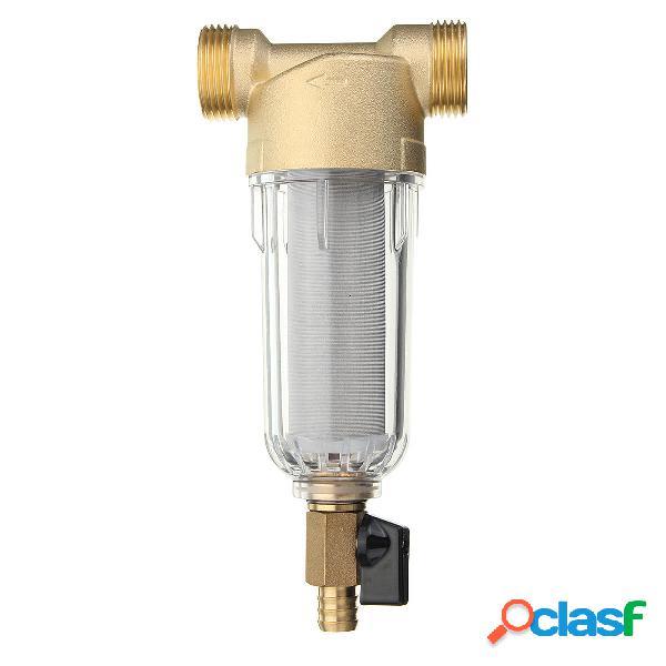 1 Inch Cobre Pre-filtro del agua del puerto Purificador