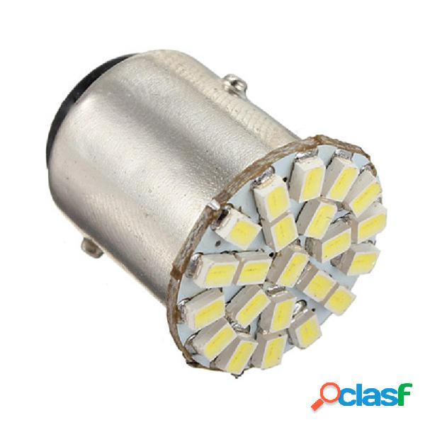 1 Unids 1157 BA15D 22-SMD LED Coche Bomba de luz trasera de